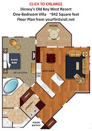 old key west 1 bedroom villa floor plan gallery including review