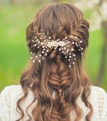 bridal hairstyles 50 simple bridal hairstyles for curly hair