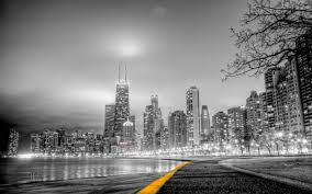 Cityscape Wallpaper by Chicago Black And White Pinterest Chicago City Wallpaper