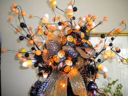 halloween tree with ornaments living the good life halloween decor