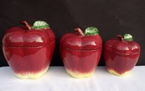 apple canisters for the kitchen pin by williams on kitchen apple decor kitchens