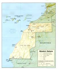 Map Of Western Africa by Maps Of Western Sahara Map Library Maps Of The World