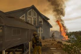 Wildfire Sacramento Area by Northern California Wildfire Spurs Evacuation Of Thousands