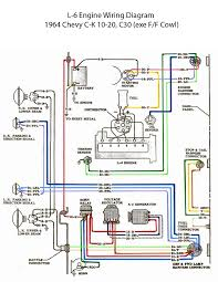 electric l 6 engine wiring diagram u002760s chevy c10 wiring