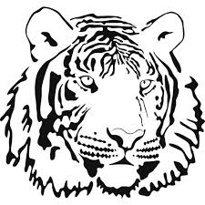 tiger drawing for children tiger coloring page only coloring pages