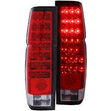 1990 toyota pickup tail light lens anzi l e d tail lights red clear nissan d 21 pinterest tail