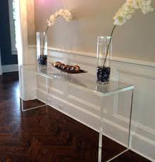 Ghost Console Table Decoration Clear Plastic Tables Large Size Of Side Table Coffee