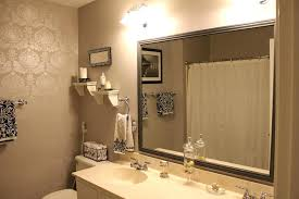 framed bathroom mirror ideas diy frame bathroom mirror large mirror frame ideas designlee me