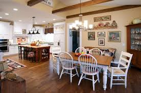 farmhouse table lighting kitchen rustic with exposed beams country kitchen country kitchen