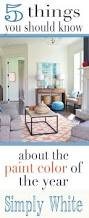 benjamin moore simply white 5 things to know living rooms