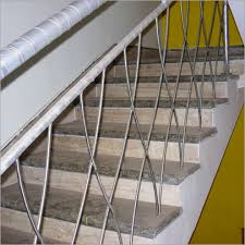 Stainless Steel Banister Rail Stainless Steel Staircase Railing Designs In India American Hwy