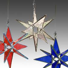 25 stained glass moravian ornaments suncatchers bundle
