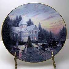 the magic of collector plate by kinkade