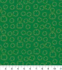 Shamrock Green St Patrick U0027s Day Fabric 43 U0027 U0027 Shamrock Outline Metallic Joann
