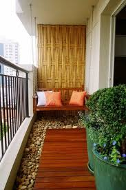 sichtblende balkon balkon sichtschutz bambus balkonpflanzen nussi