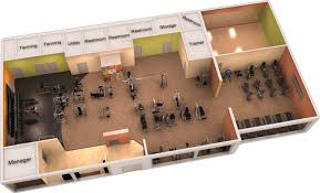 Design Home Gym Layout Great 3d Gym Design 3d Gym Desings And Gym Plans Pinterest