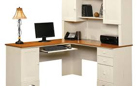 Oak Computer Desk With Hutch by Desk Stunning Small L Shaped Desk With Hutch Wynwood Marlowe