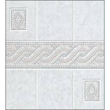 Bathroom Wall Panels Home Depot by Aquatile 1 8 In X 4 Ft X 8 Ft Alicante Tile Board 709109 At The