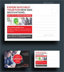 20 marketing postcard templates free sle exle format