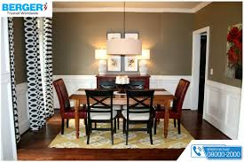 try chocolate brown paint and get amazing new look for your dining