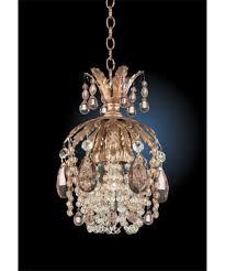 swarovski home decor lighting schonbek rondelle wide 1 light mini pendant with