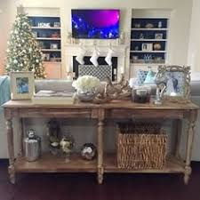 Decorating A Sofa Table World Market Everett Foyer Table Styling Ideas Living Rooms