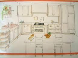 dessiner une cuisine en perspective dessiner en perspective une cuisine perspective cuisine dessiner