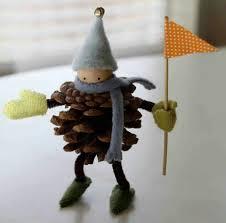 muñeco de piña navidad pinterest