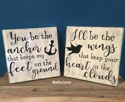 you be the anchor rustic bedroom decor anchor quote rustic home