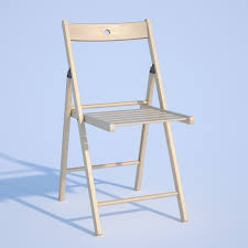 Ikea Folding Chairs by Ikea Terje Chair 3d Model In Stool 3dexport
