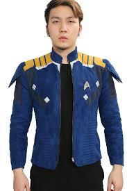Star Trek Halloween Costume Captain James Kirk Jacket Star Trek Cosplay Costume