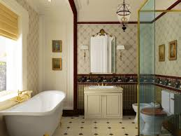 artistic interior design bathroom ideas blog with white patterned