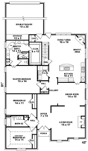 louisiana european country home plan 087d 0646 house plans and more