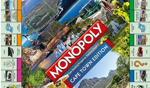 monopoly map monopoly cape town south version of monopoly city