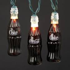 novelty lights and lighted tree toppers ksa coca cola bottle