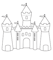 Coloring Pages Castles Free Printable Castle Coloring Pages For Kids