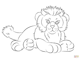 webkinz lion coloring page free printable coloring pages