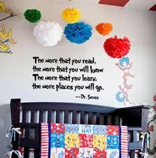Vinyl Wall Decals For Nursery Dr Seuss Vinyl Wall Decals For Kid S Room Or Nursery As Low As