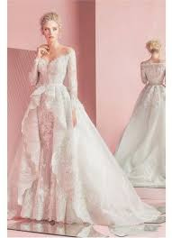 aliexpress com buy modest zuhair murad detachable wedding