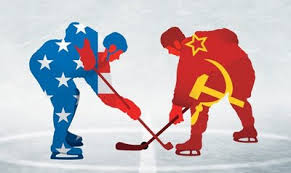 competition was high between U.S. hockey and Soviets
