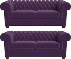 Purple Velvet Chesterfield Sofa Debenhams 4 Seater Velvet Chesterfield Sofa Bed Debenhams