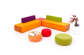 Office Furniture Colorful Modern Lobby Sofa Design Fabric - Office sofa design