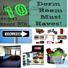 10 Must Essentials For A by List Of 10 Room Essentials Printable Checklist