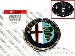 alfa romeo emblem original alfa romeo 159 heckemblem emblem kofferraum 50500393