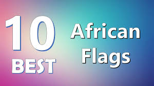 Uganda Flag Colours Top 10 Best African Flags Youtube