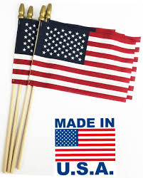 Yaqui Flag Amazon Com Giftexpress Set Of 12 Proudly Made In U S A Small