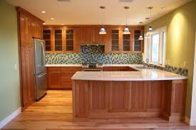 endearing natural cherry kitchen cabinets and cherry kitchen