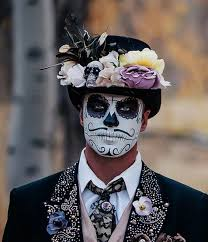 imagenes de calaveras hombres halloween hombre hombre del crneo de halloween cortes de cabello