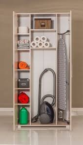 Broom Cabinet Ikea Ikea Organised Inside Of A Cleaning Closet Another Option For