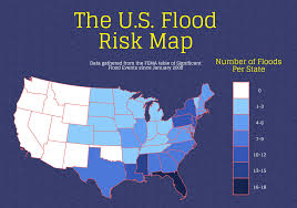Flood Map The Us Flood Risk Map Infographic
